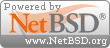 Site powered by NetBSD